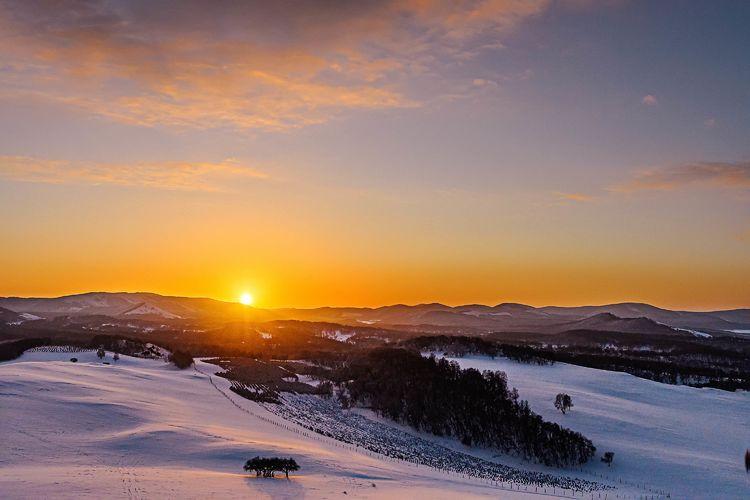冬韵于御道口草原森林风景区——如诗如画别样美丽!(图文)